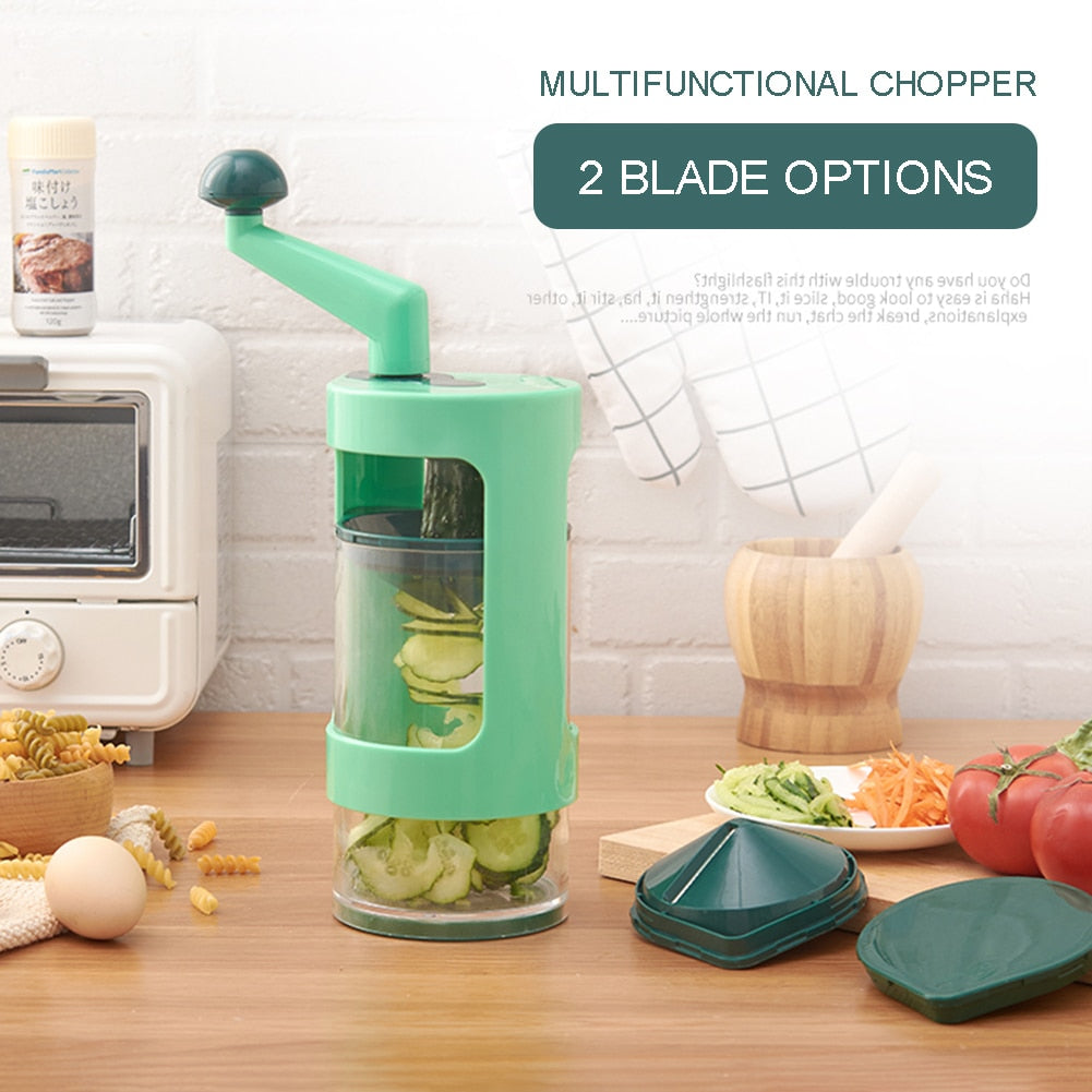 Multifunction Manual Vegetable Chopper Cutter Fruit Carrot Potato Cucumber Slicer Shredder Kitchen Gadgets