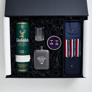 luxury valentines gift box for him