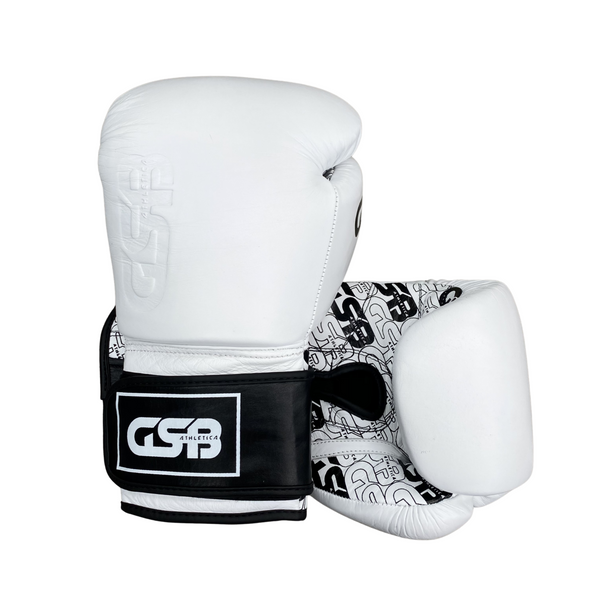 GSB Elite Gloves 12-16oz - White
