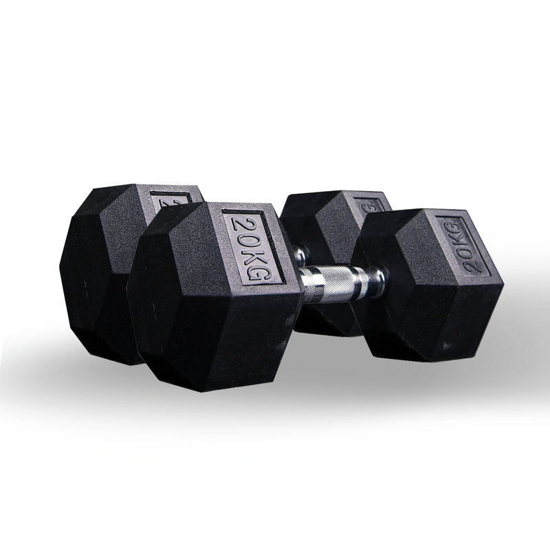 Hex dumbbell pair 17.5kg