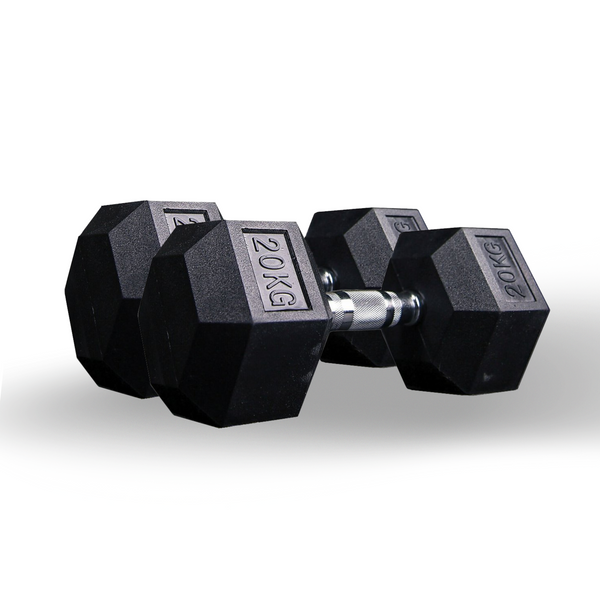 Hex dumbbell pair 20kg