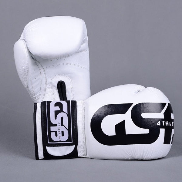 Harlequin Boxing gloves 10-14oz - White