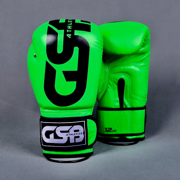 Harlequin Boxing gloves 10-14oz - Green