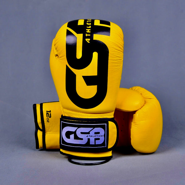 Harlequin Boxing gloves 10-14oz - Yellow