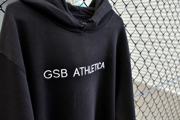 GSB Premium Hoodie - Black and White
