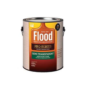 Flood Pro Series Semi-Transparent Stain