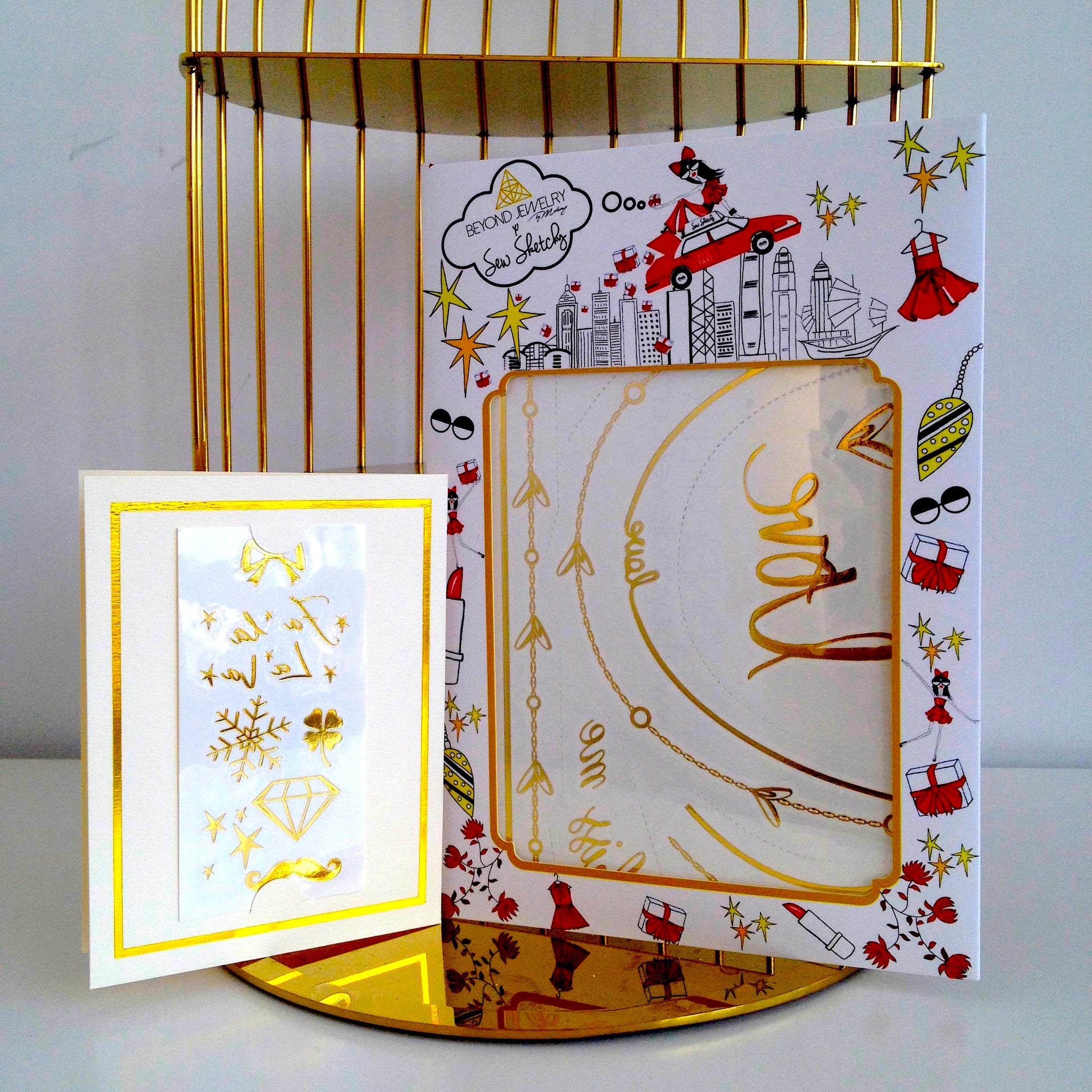 Christmas Love Greeting Card Set Beyond Jewelry