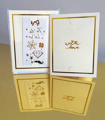 Christmas L.O.V.E + Greeting Card Set