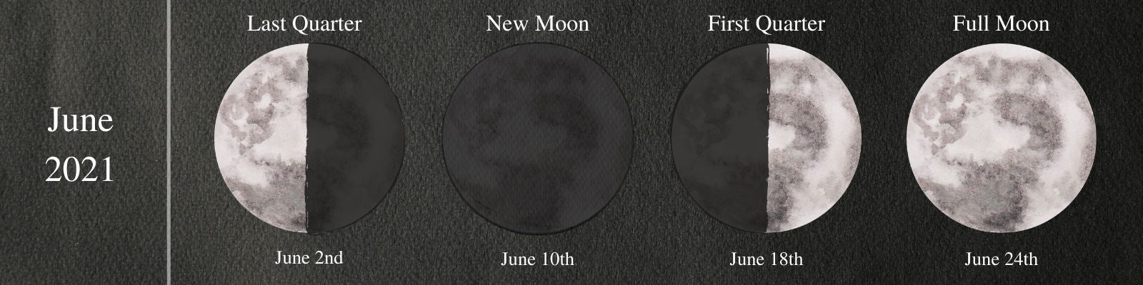 Moon Phases June 2021