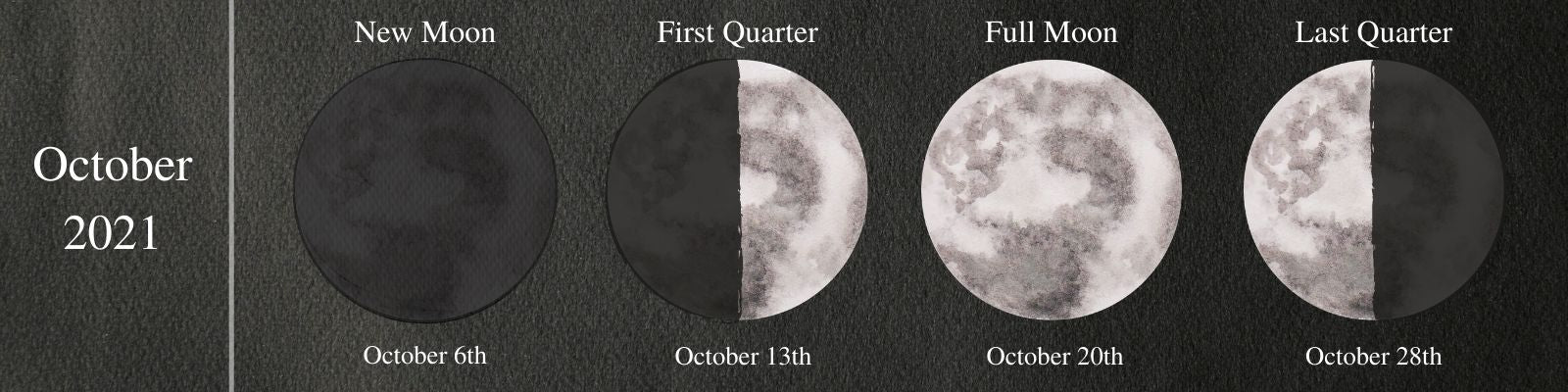 Moon Phases October 2021