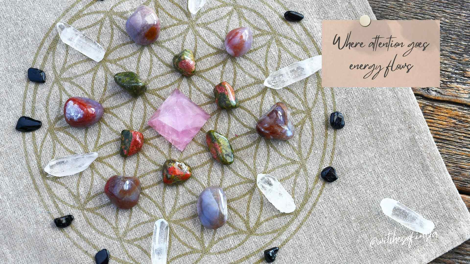 Tools of a Witch - Crystal Grids