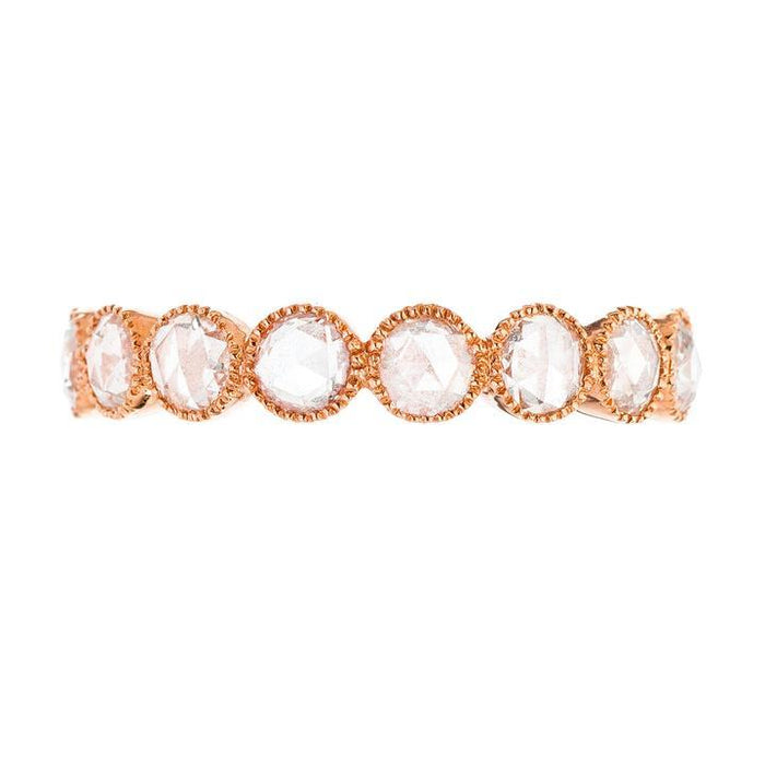 The Grace Diamond Band in Rose Gold