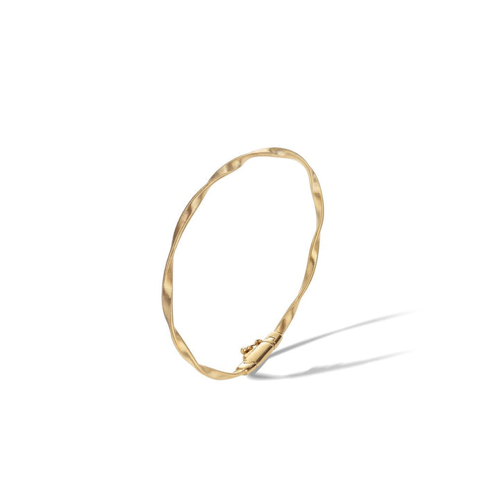 Marrakech Collection 18k Yellow Gold Stackable Bangle