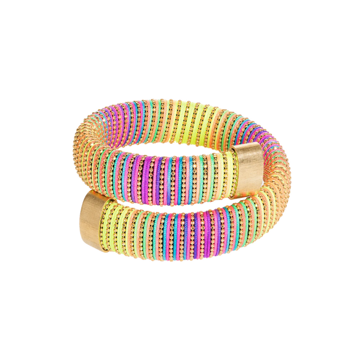 Neon Caro Bracelet in Yellow Gold