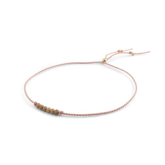 Friendship Bracelet No. 2 in Blush