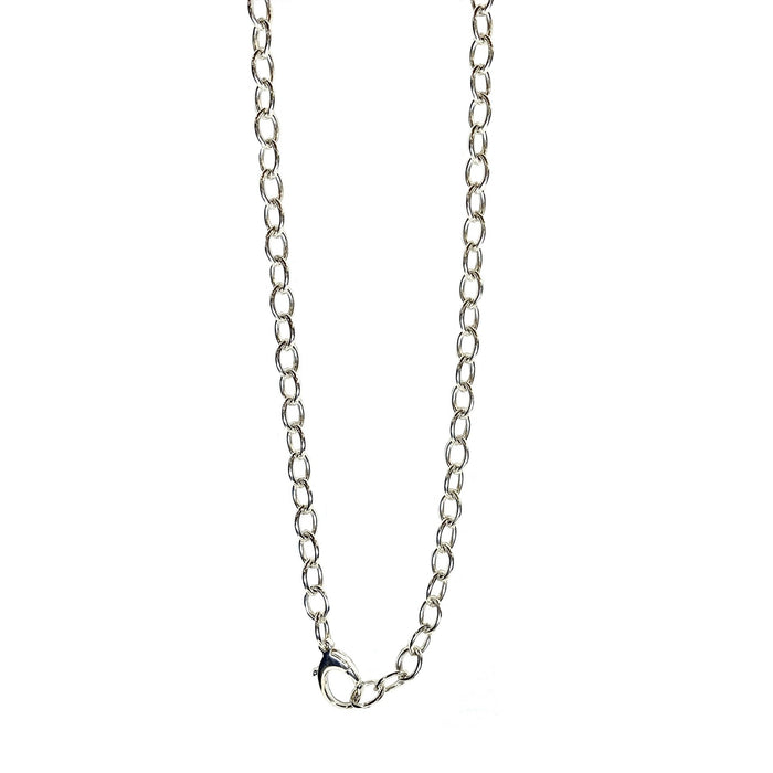 Heavy Cable Sterling Silver Oval Link Chain