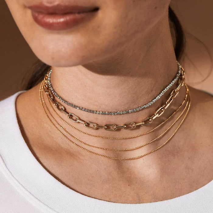 Moca Yellow Gold Choker