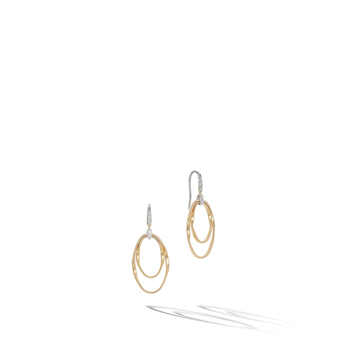 Marrakech Onde Double Concentric Hook Earring