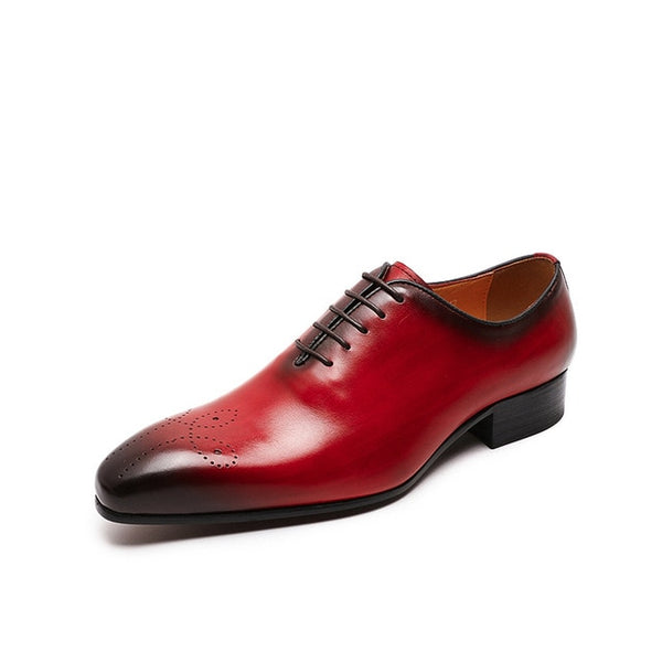 Oxfords Leather Shoes Formal Business Men - FelixChu-F87-22-1