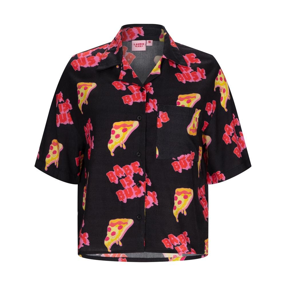 BABE IS BUSY pizza shirt - laurieleestudio