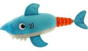 Shark Hush Plush Squeaky Toy
