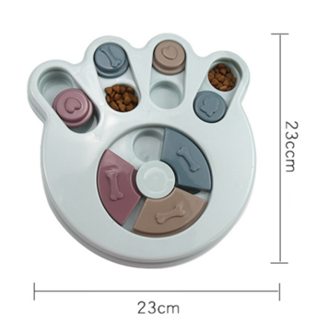 High IQ Dog Puzzle - Paw Print