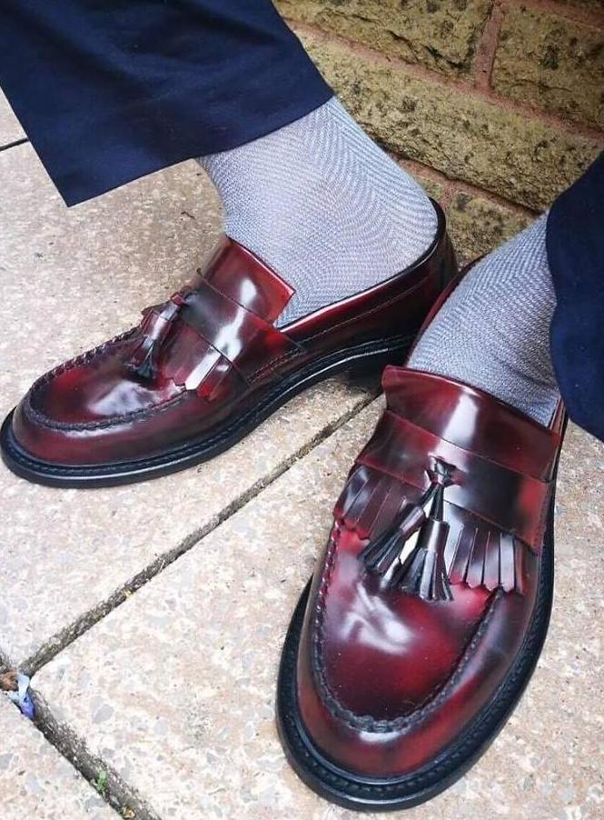 Shoes Loafers Oxblood Selecta by Ikon