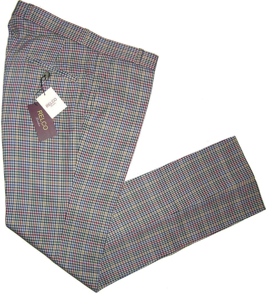 Sta Press Trousers Tweed - CXLondon.Com