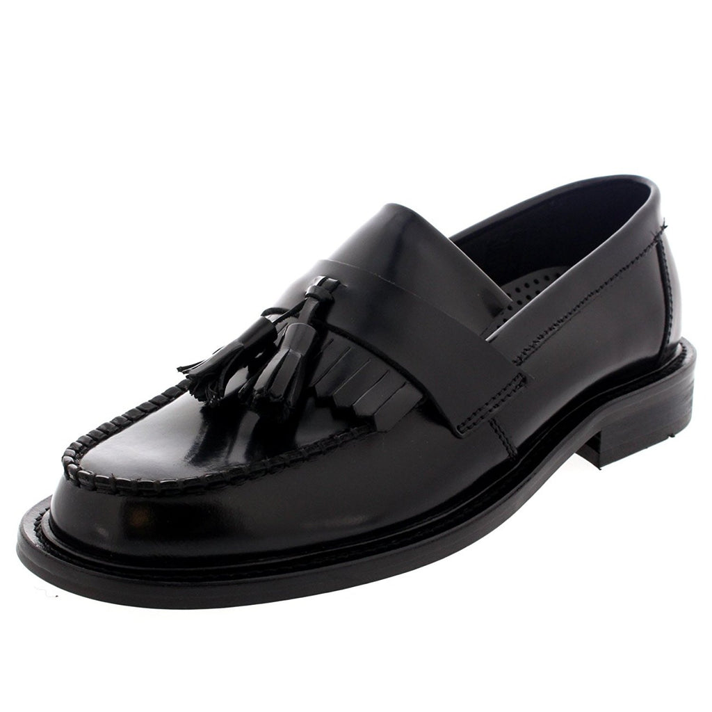 Shoes Men's Loafers Selecta Black by Ikon