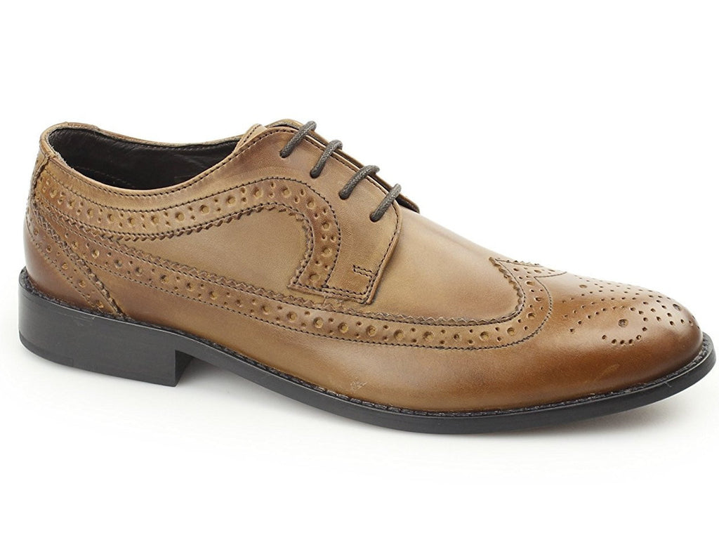 Shoes Brogues Marston Tan Designed By Ikon