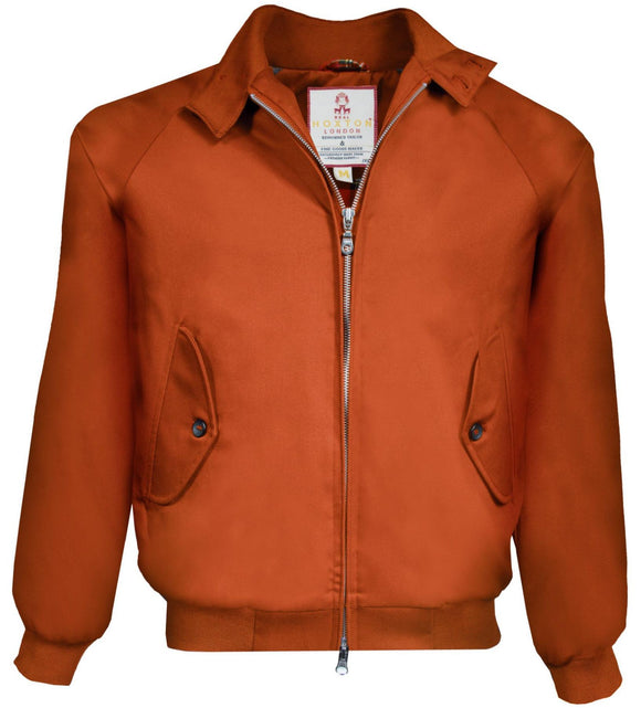 Harrington Jacket Copper - Real Hoxton