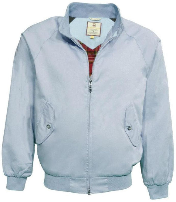 Harrington Jacket Sky Blue classic  - Real Hoxton