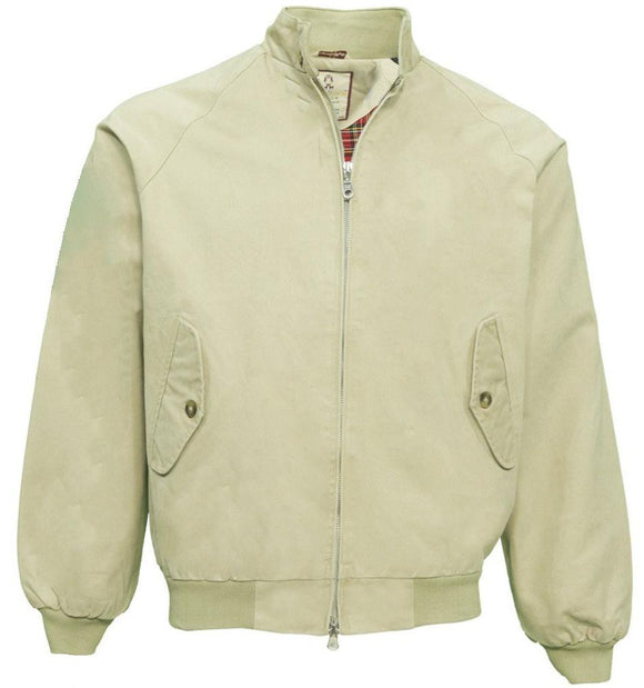Harrington Jacket Beige classic  - Real Hoxton