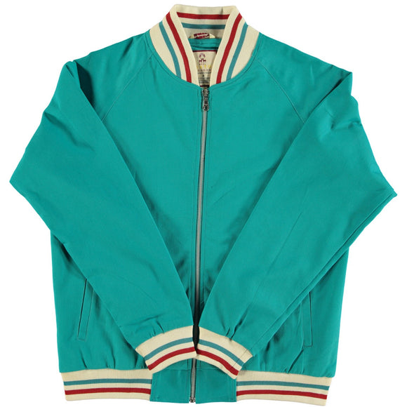 Monkey Jacket Sea Green Vintage Bomber Design - Real Hoxton