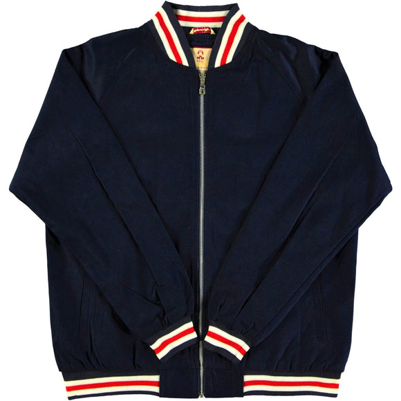 Monkey Jacket Navy Vintage Bomber Design - Real Hoxton