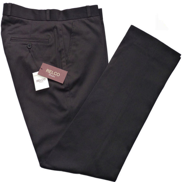 Sta Press Trousers Black - CXLondon.Com