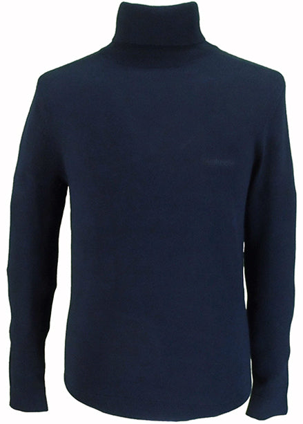Roll Neck - Navy - Lambretta