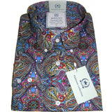 Shirt Psych Men's Multi Colour Platinum Range - Relco - CXLondon.Com
