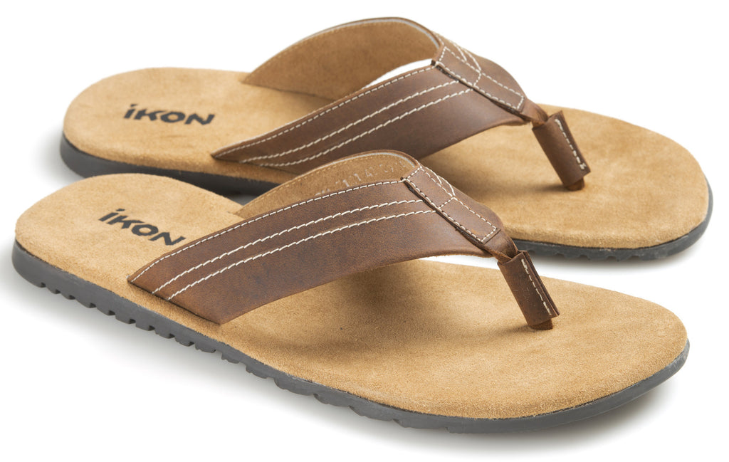 Poole Slip-on Sandals - Tan by Ikon