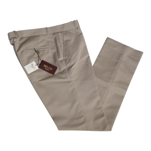 Sta Press Trousers in Khaki
