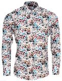 Mens Shirt Multi Colour Floral - Relco