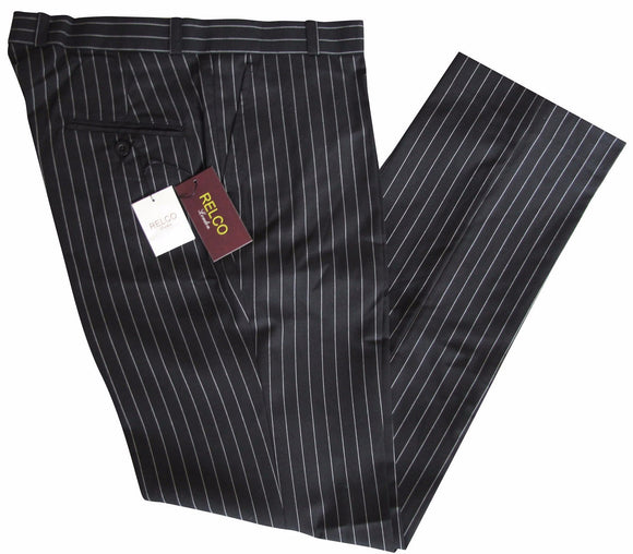 Sta Press Trousers Pinstripe