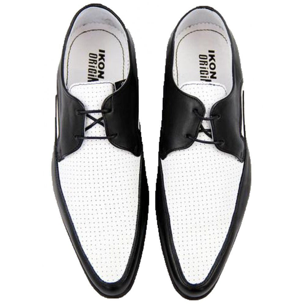 The Jam Shoes in Black & White by Ikon