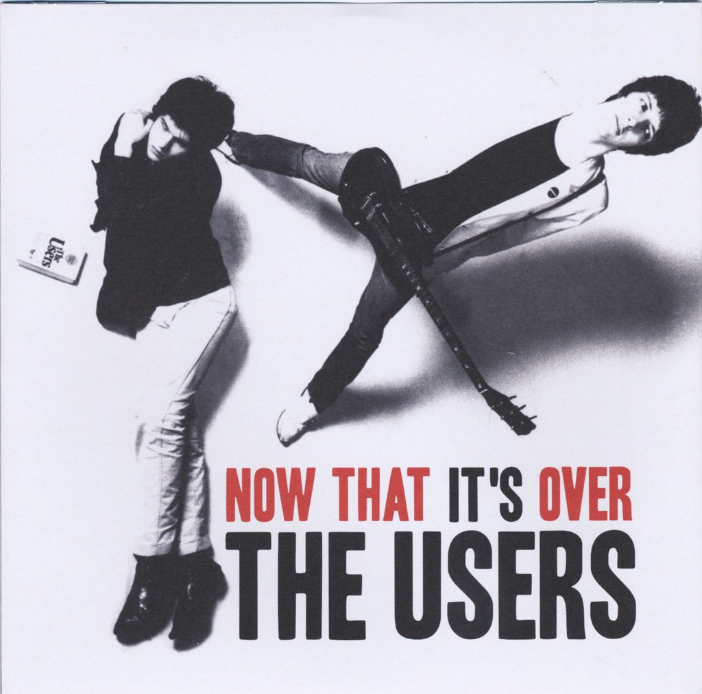 THE USERS  'Now That It's Over' Pink vinyl 7""