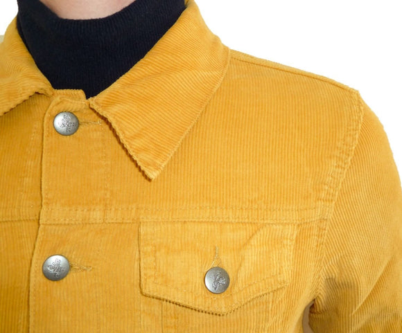Corduroy Jacket Classic 60's Style Mustard