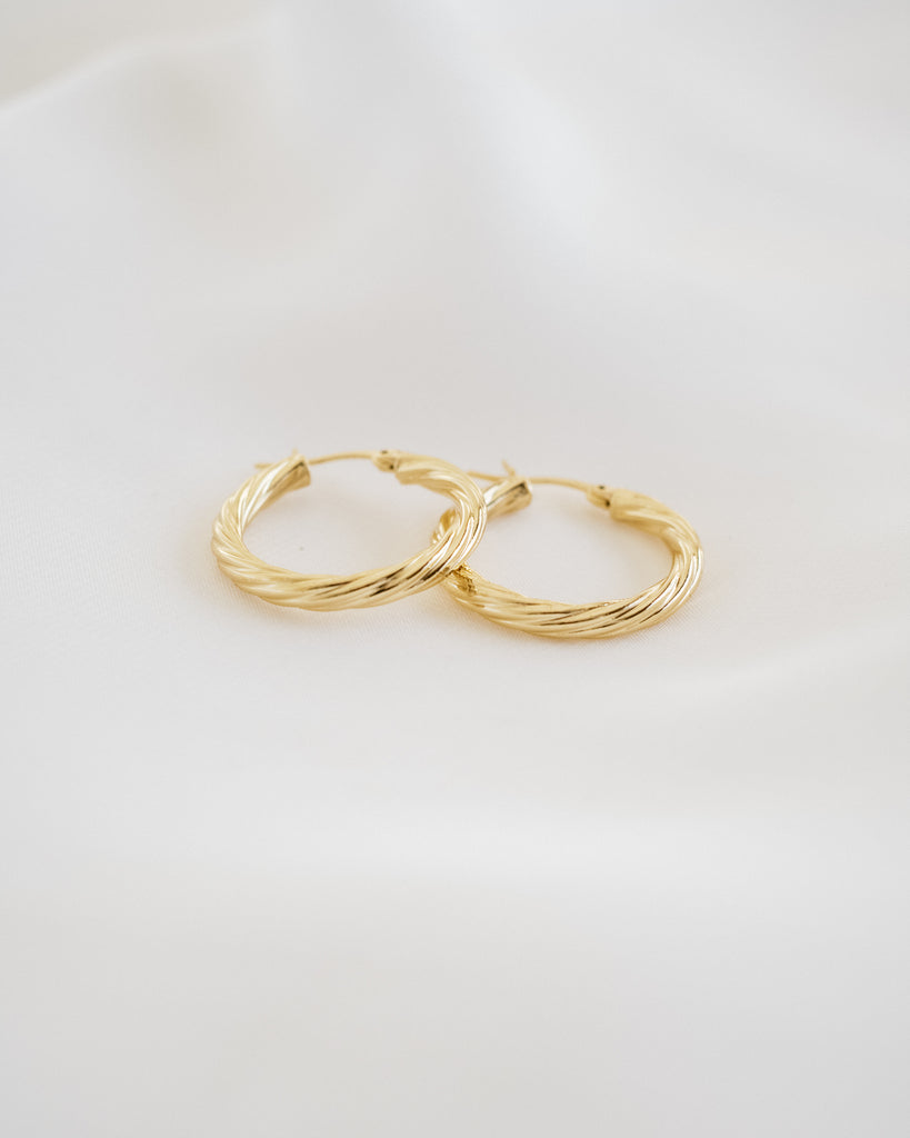 Celia Gold Hoops