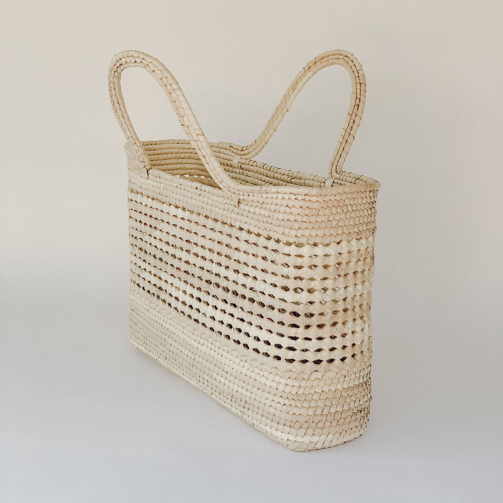 Mercado Straw Market Basket