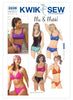 Kwik Sew Misses' Swimsuits Pattern K3239