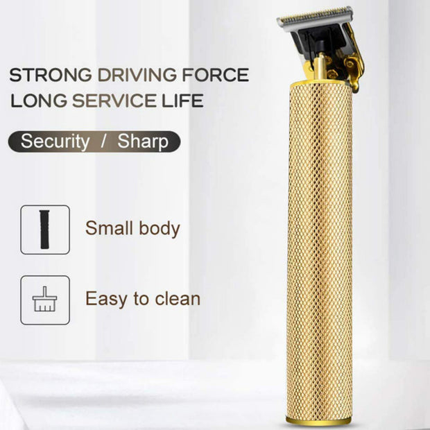 Electric USB Pro Li Hair Clippers Grooming Rechargeable Cordless Close Cutting Zero Gapped Barbershop