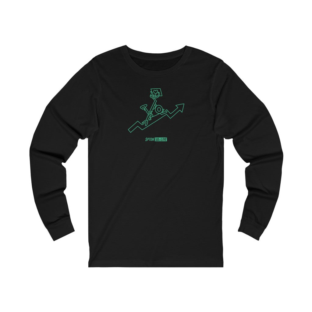 $PTON Long Sleeve Premium Tee